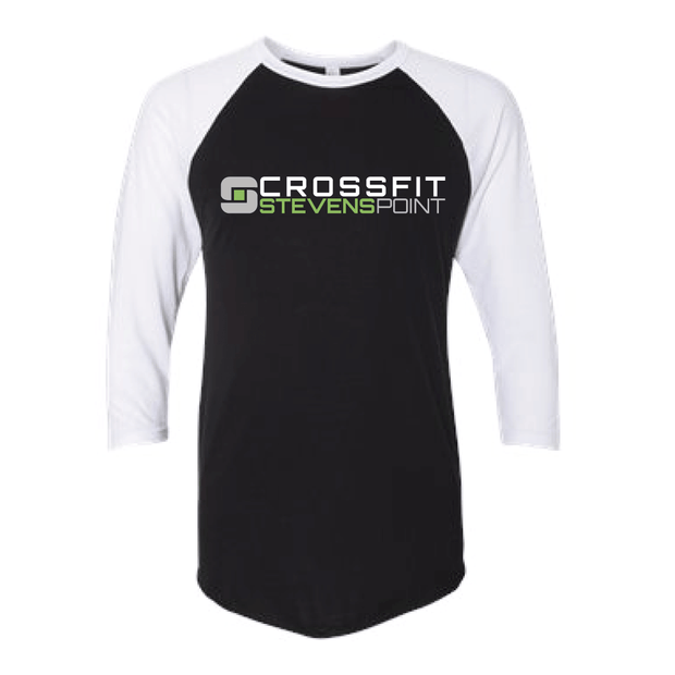 CrossFit Stevens Point Baseball Tee-Boxstar Apparel