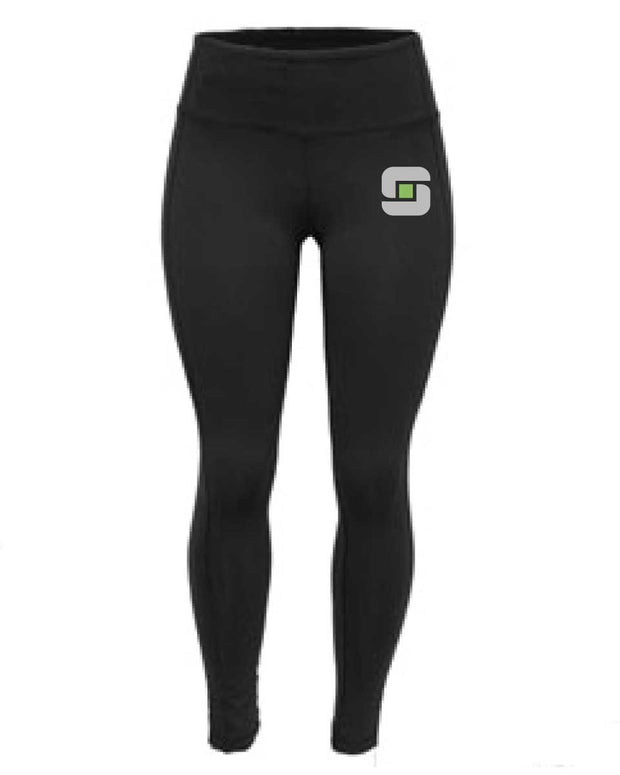 CrossFit Stevens Point Ladies Full Length Tights-Boxstar Apparel