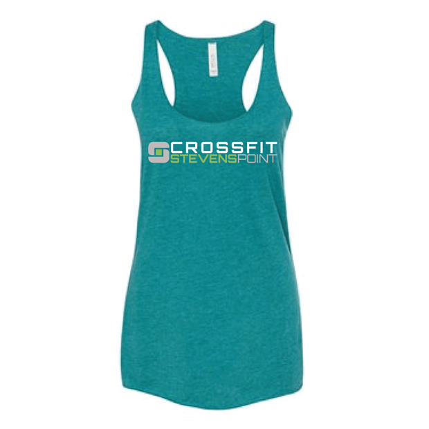 CrossFit Stevens Point Ladies Racerback Tank-Boxstar Apparel