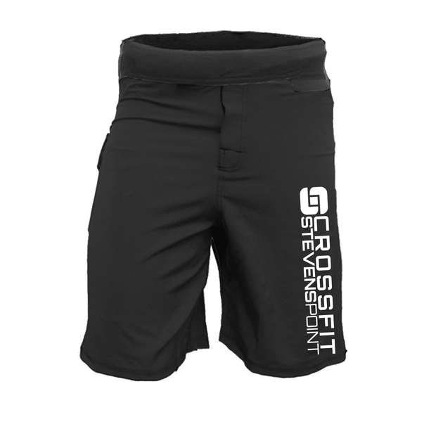 CrossFit Stevens Point Men's WOD Shorts-Boxstar Apparel