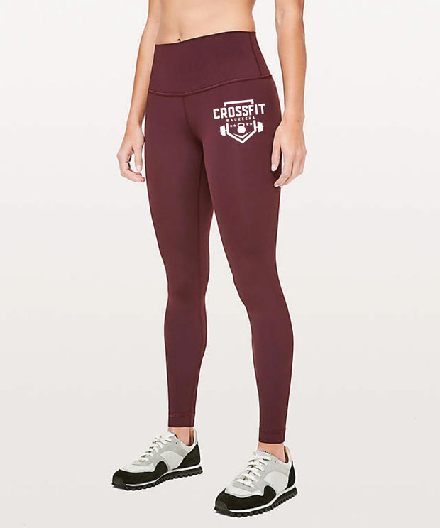 CrossFit Waukesha High Waist Tights-Boxstar Apparel