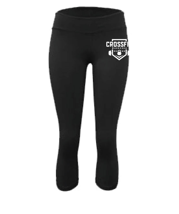 CrossFit Waukesha Ladies Capris-Boxstar Apparel