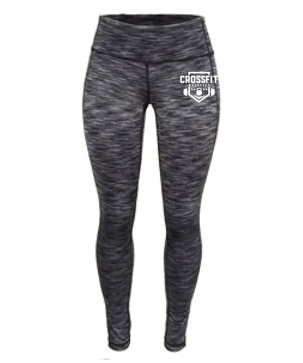 CrossFit Waukesha Ladies Full Length Tights-Boxstar Apparel