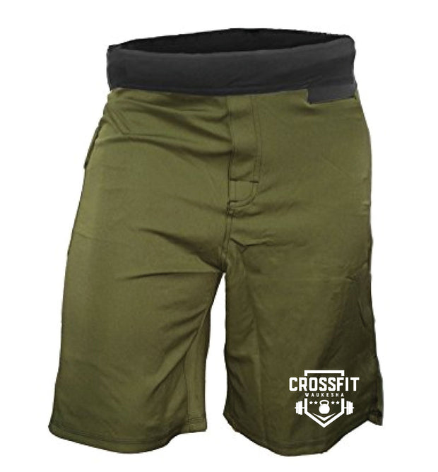CrossFit Waukesha Men's WOD Shorts-Boxstar Apparel