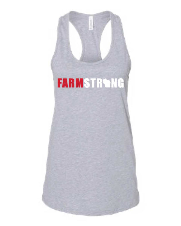 Farmland Fitness Farm Strong Ladies Tank-Boxstar Apparel