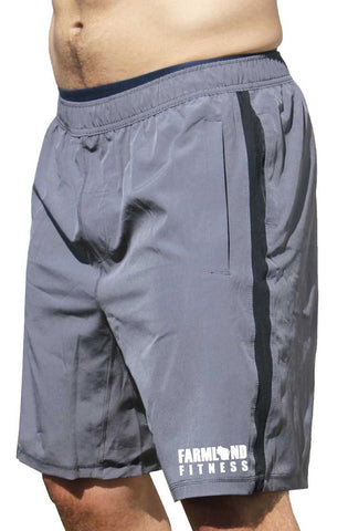 Farmland Fitness Men's Coach Shorts-Boxstar Apparel