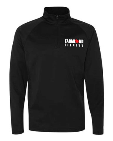 Farmland Fitness Performance Fleece Quarter-Zip Jacket-Boxstar Apparel
