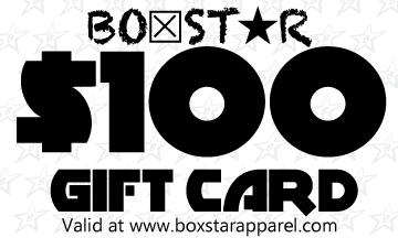 $100 Gift Card-Boxstar Apparel