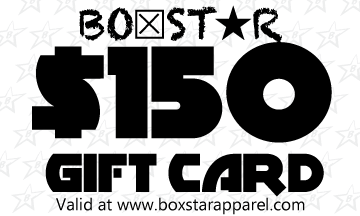 $150 Gift Card-Boxstar Apparel