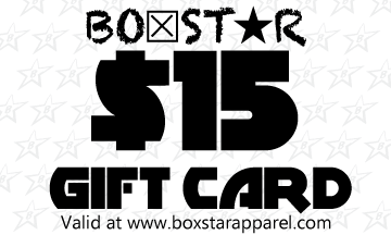 $15 Gift Card-Boxstar Apparel