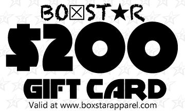 $200 Gift Card-Boxstar Apparel