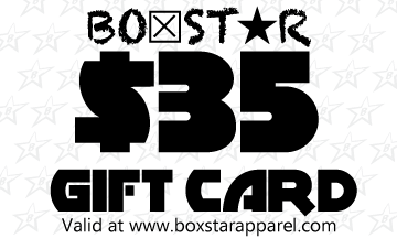 $35 Gift Card-Boxstar Apparel