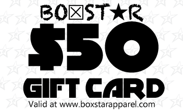 $50 Gift Card-Boxstar Apparel