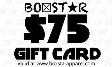 $75 Gift Card-Boxstar Apparel