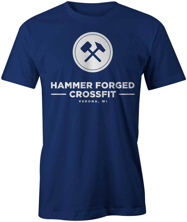 Hammer Forged CrossFit Basic Tee-Boxstar Apparel