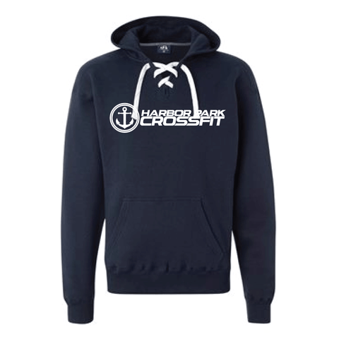 HPCF Lace Hooded Sweatshirt-Boxstar Apparel