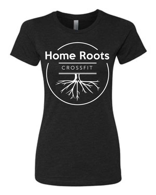 Home Roots CrossFit Ladies Tee-Boxstar Apparel
