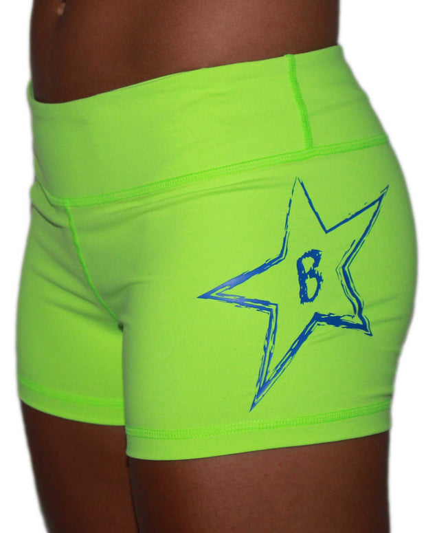 Ladies Big Star Shorts-Boxstar Apparel