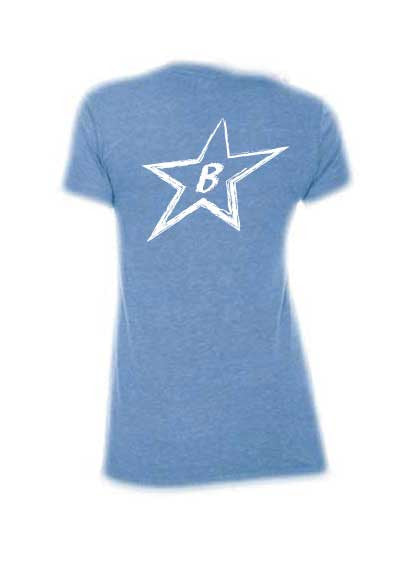 Ladies Big Star Tee-Boxstar Apparel
