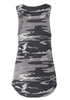 Ladies Black Camo Logo Tank-Boxstar Apparel