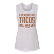 Ladies Tacos are Forever Muscle Tank-Boxstar Apparel