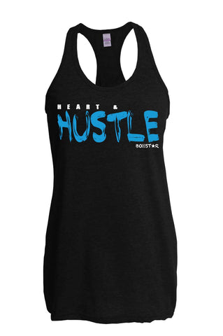 Ladies Heart & Hustle Tank-Boxstar Apparel