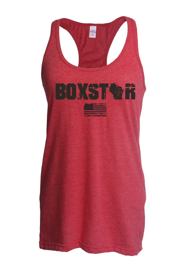 Ladies Roots Tank-Boxstar Apparel