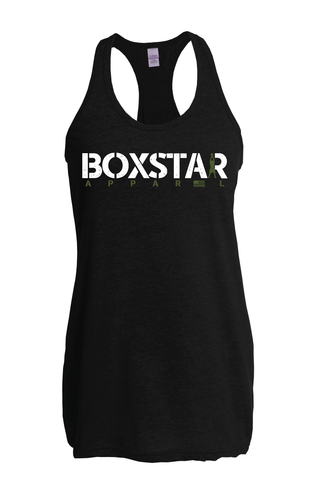 Ladies Swing Tank-Boxstar Apparel