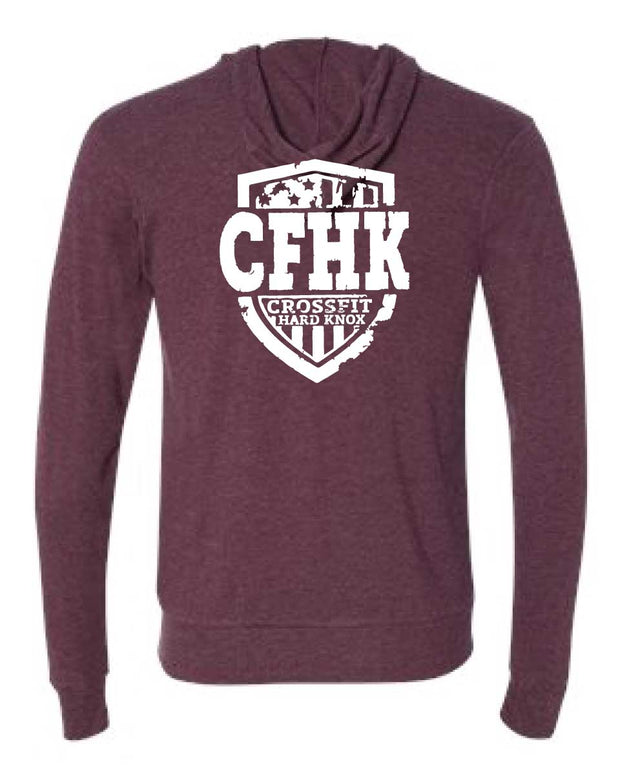 CrossFit Hard Knox Lightweight Zip-Up-Boxstar Apparel