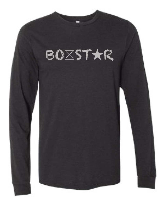 Long Sleeve Logo Tee-Boxstar Apparel