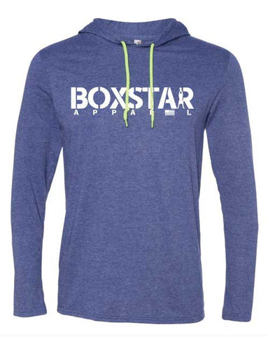 Swing Long Sleeve Hooded Tee-Boxstar Apparel