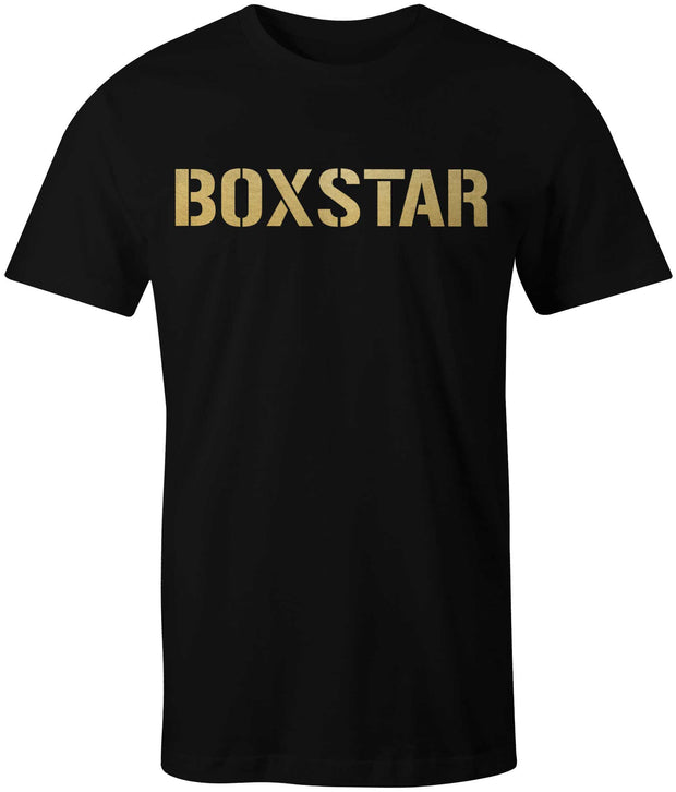 Men's Gold Tee-Boxstar Apparel