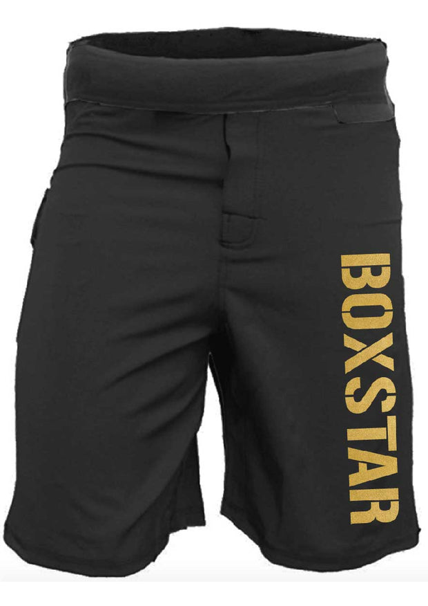 Men's Gold WOD Shorts-Boxstar Apparel