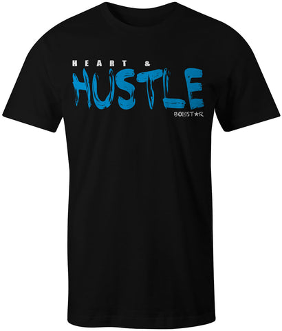 Men's Heart & Hustle Tee-Boxstar Apparel