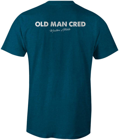 Men's Old Man Cred Masters Athlete Tee-Boxstar Apparel