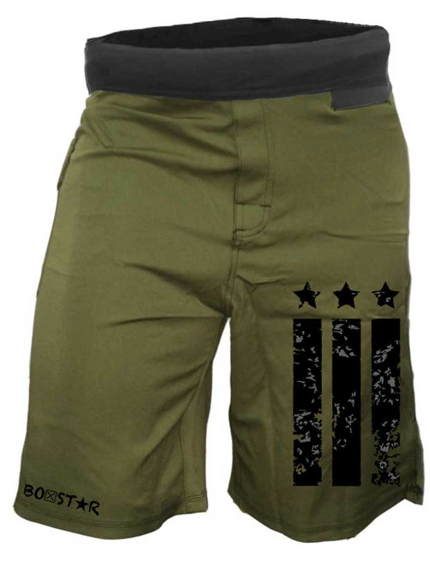 Men's Patriot Shorts-Boxstar Apparel