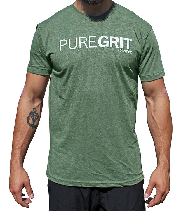 Men's Pure Grit Tee-Boxstar Apparel