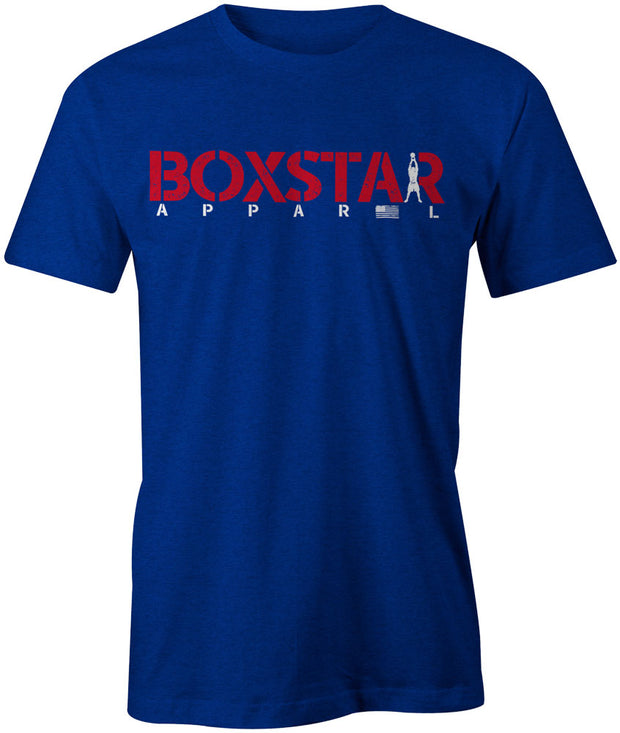 Men's Stars & Stripes Tee-Boxstar Apparel