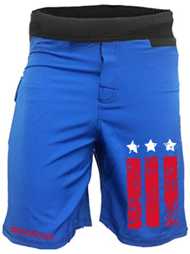Men's RWB WOD Shorts-Boxstar Apparel