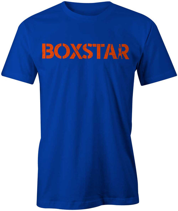 Men's Blue Swing Tee-Boxstar Apparel