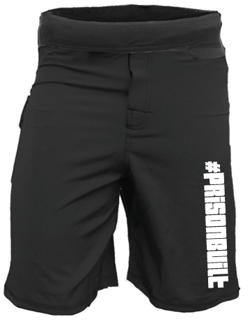 Men's Prison Built WOD Shorts-Boxstar Apparel
