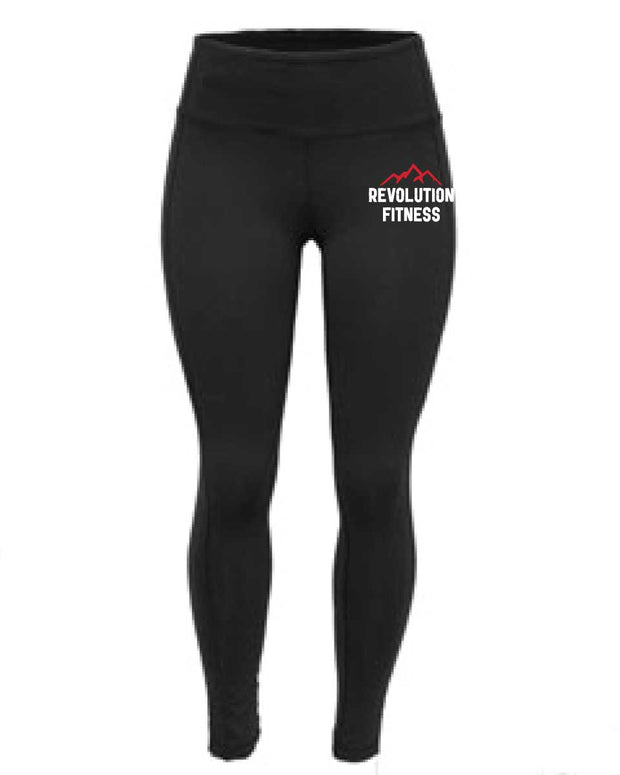 Revolution Fitness Ladies Full Length Tights-Boxstar Apparel