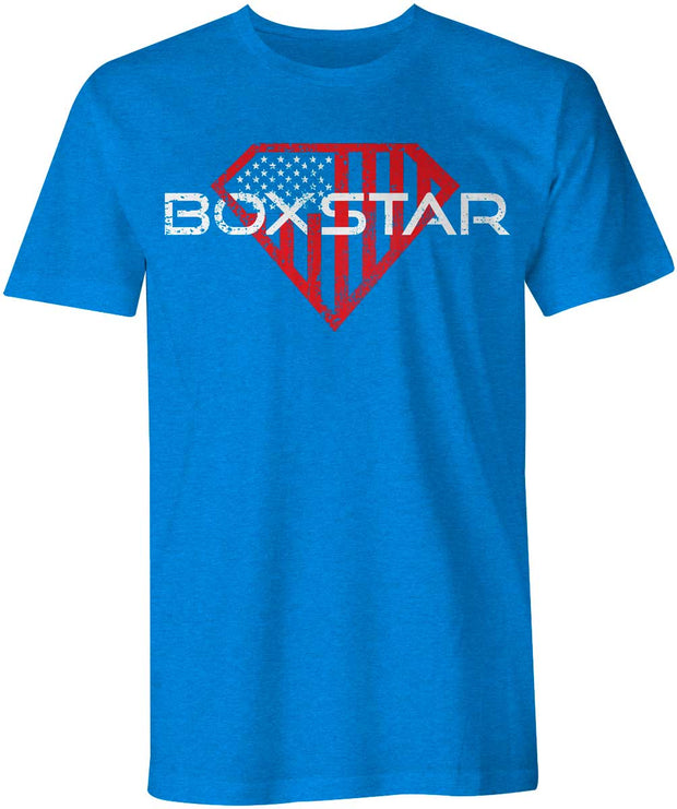 Men's Superman Shield Tee-Boxstar Apparel