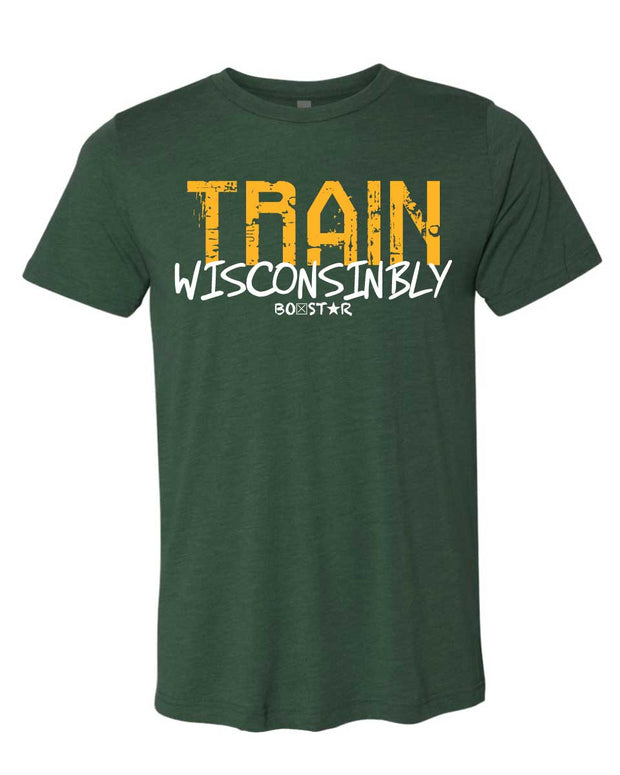 Men's Train Wisconsinbly Titletown Tee-Boxstar Apparel