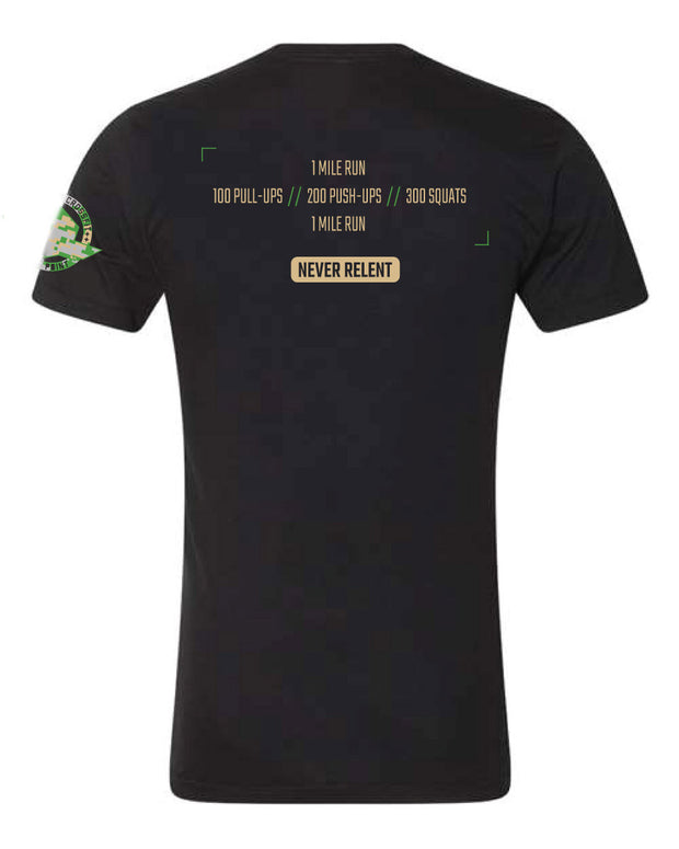 Men's Murph Never Relent Top Fuel Tee-Boxstar Apparel