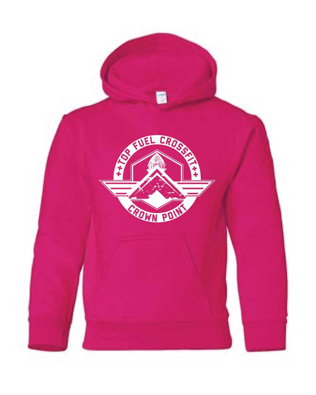 Top Fuel CrossFit Youth Unisex Hoodie-Boxstar Apparel