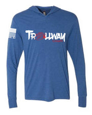 Trollway CrossFit Long Sleeve Hooded Tee-Boxstar Apparel