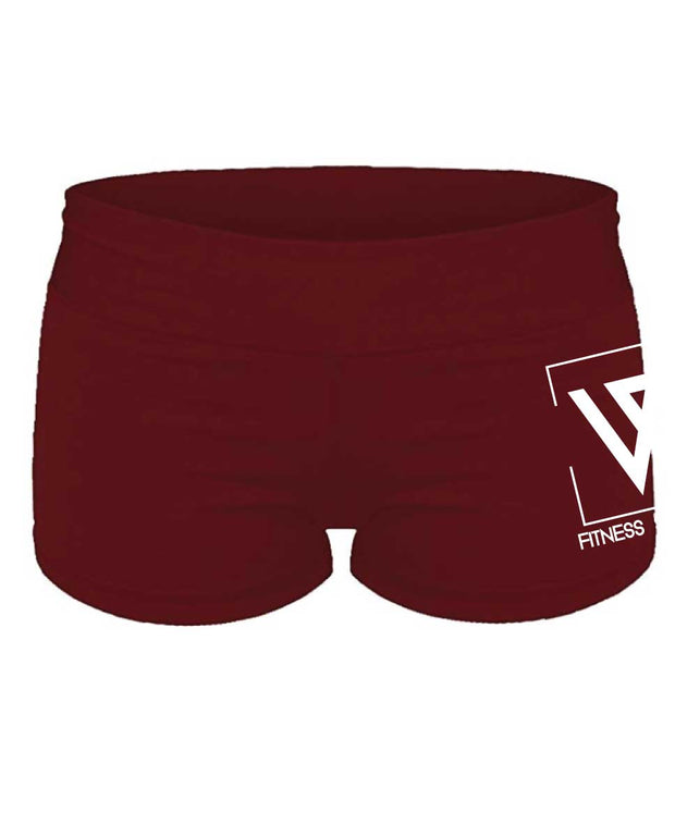 WiscoFit Ladies Tight Shorts-Boxstar Apparel
