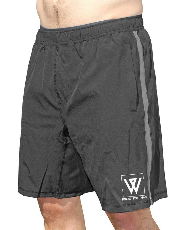 WiscoFit Men's Coach Shorts-Boxstar Apparel