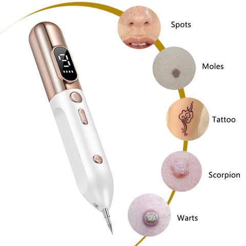 Laser Plasma Pen Mole Tattoo Freckle Wart Tag Removal Pen Dark Spot Remover For Face LCD Skin Care Tools Beauty Machine